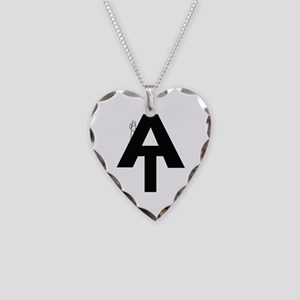 AT Hiker Necklace Heart Charm